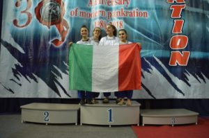 SAVIANO We have the Champion.  Cecilia Cristina Di Laora,  campionessa del mondo, categoria cadetti, di pankration.
